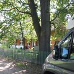 """der """"Heuerhof"""" gegenüber Opas """"gemietetes"""" Wohnhaus"""