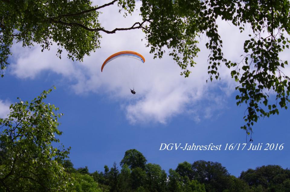 DGV- Jahresfest Juli 2016 in Buttenhausen